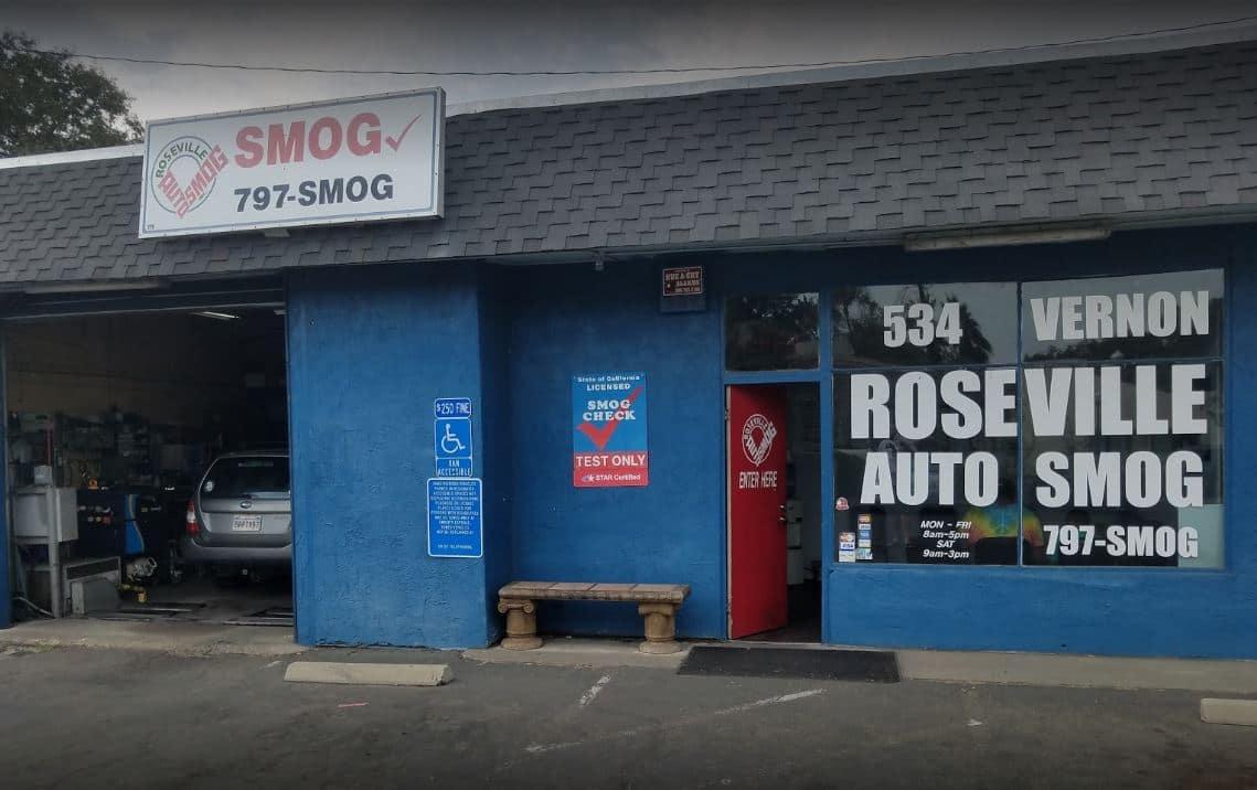 Roseville Auto Smog