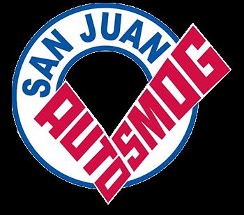san juan auto smog logo